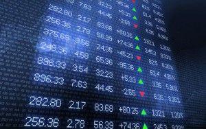 Stock Market Ticker Wall