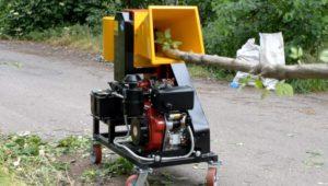 Измельчитель для веток дизельный